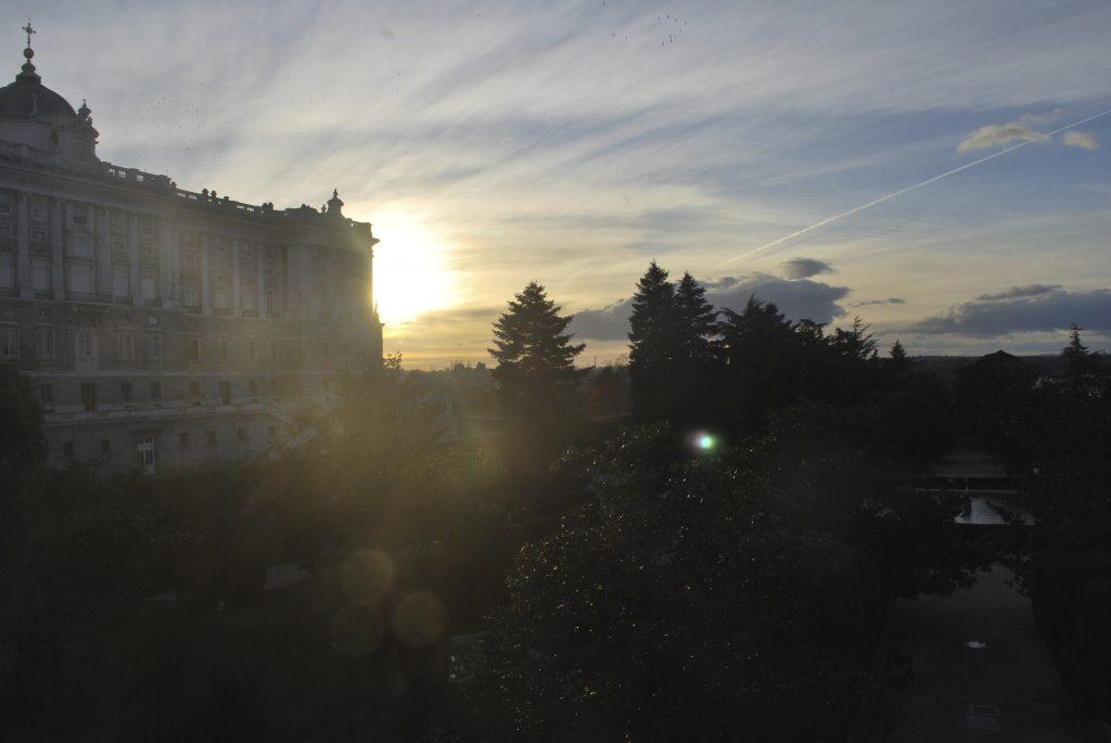 Jardines de Sabatini et Palacio Real, Madrid