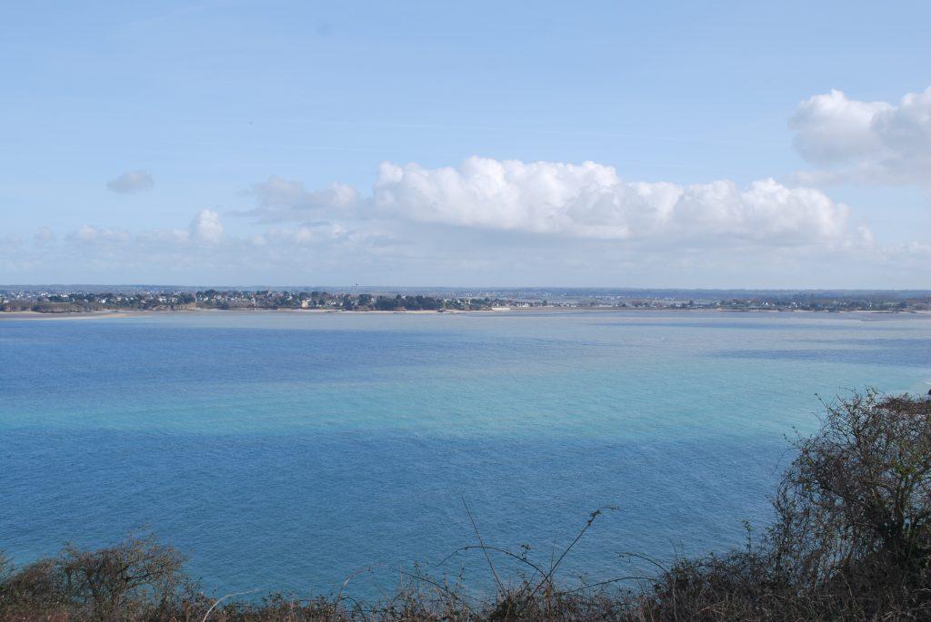 Vue depuis la Pointe du Bay