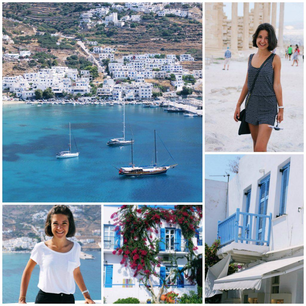 La Vida de Marine en Grèce