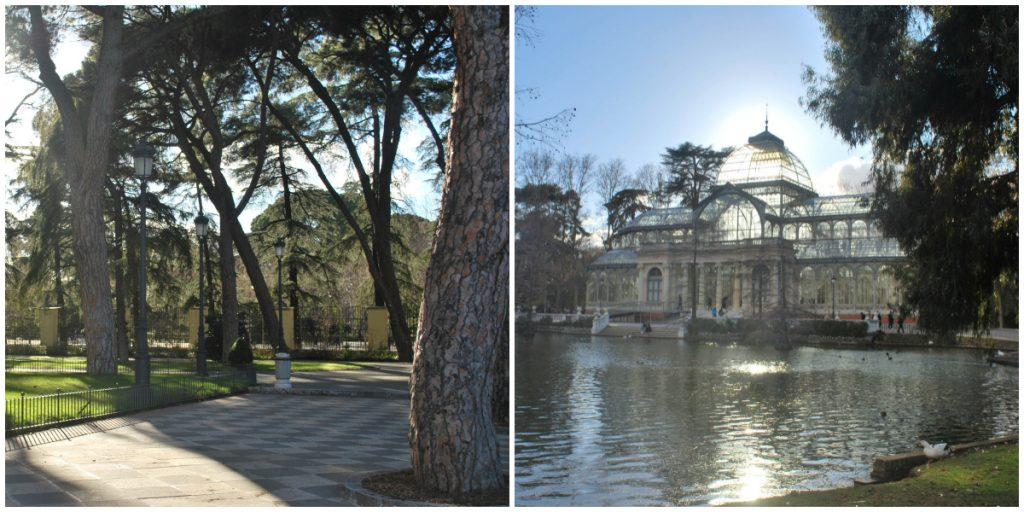 Retiro et Palacio de Cristal, Madrid