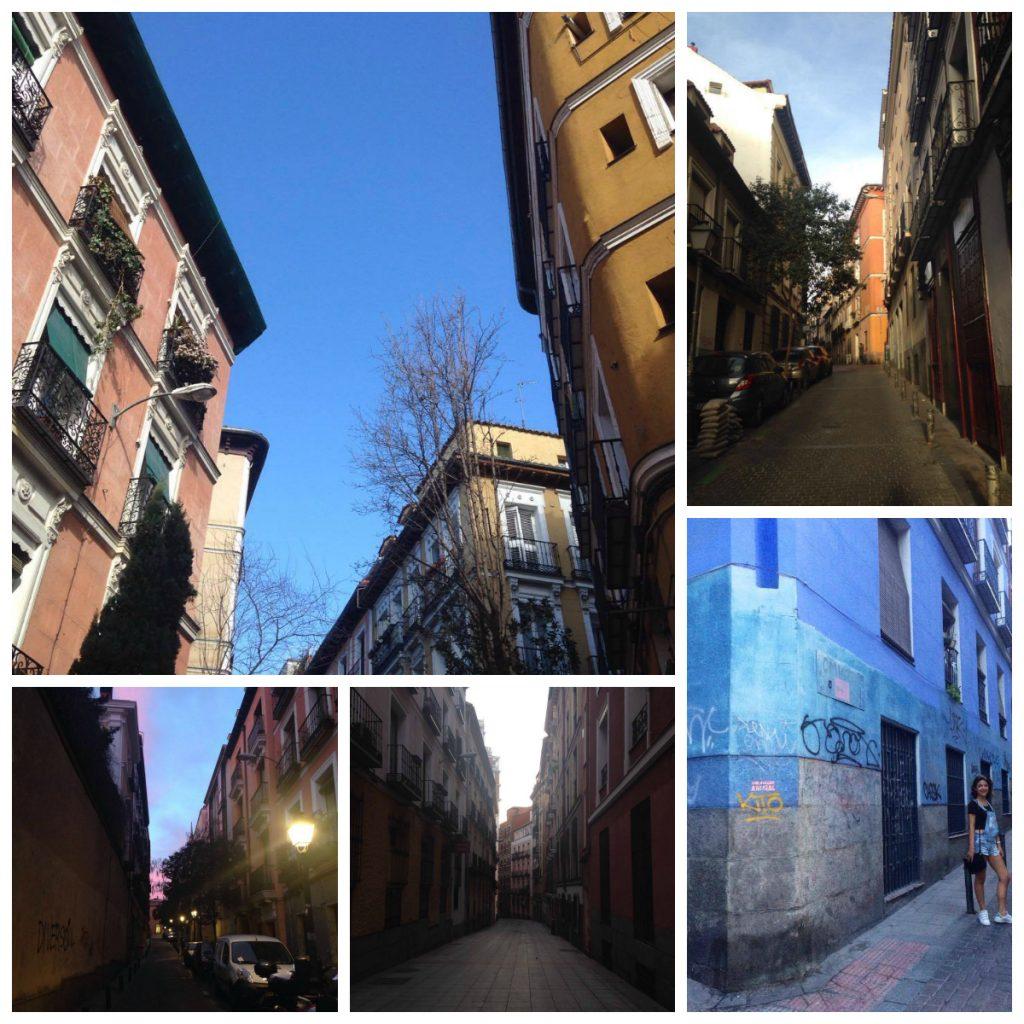 Immeubles colorés dans Malasaña