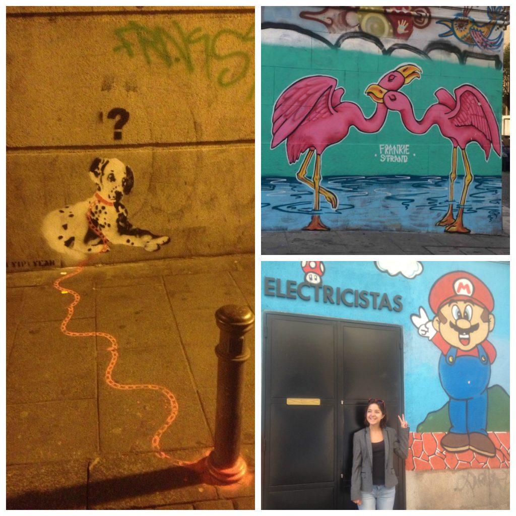 Street-Art dans Malasaña
