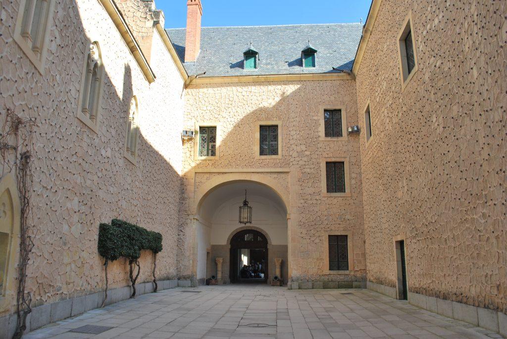 Salle de l'Alcazar de Segovia