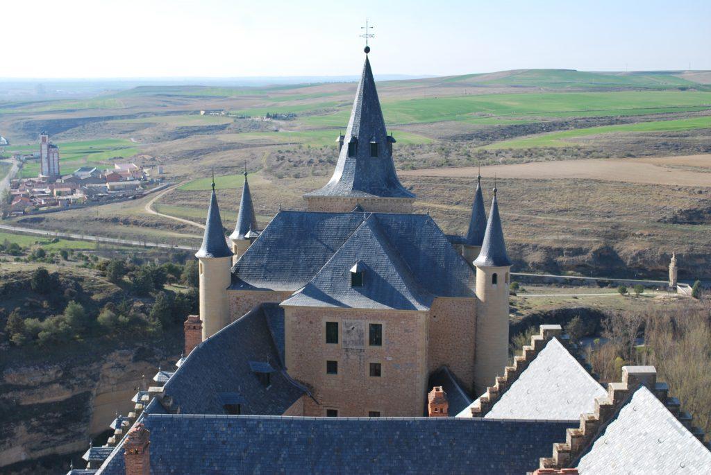 Vue depuis la Torre de l'Alcazar de Segovia