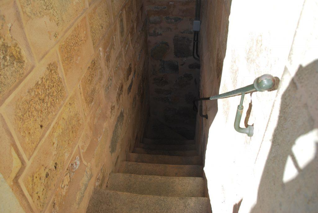 Escalier de l'Alcazar de Segovia