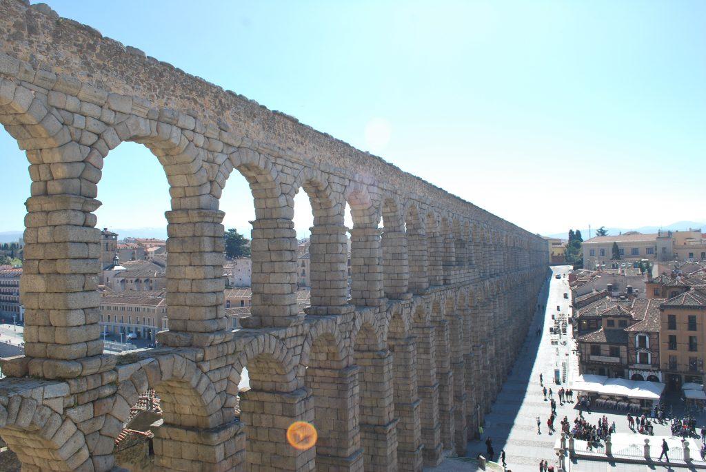 Aqueduc de Segovia d'en haut