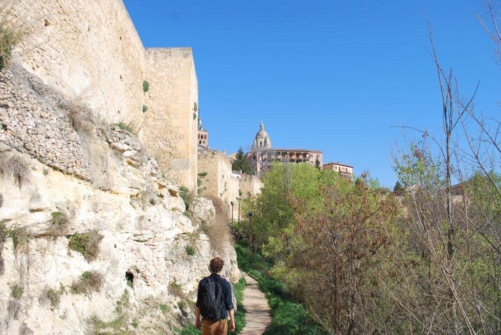 Chemin des remparts de Segovia