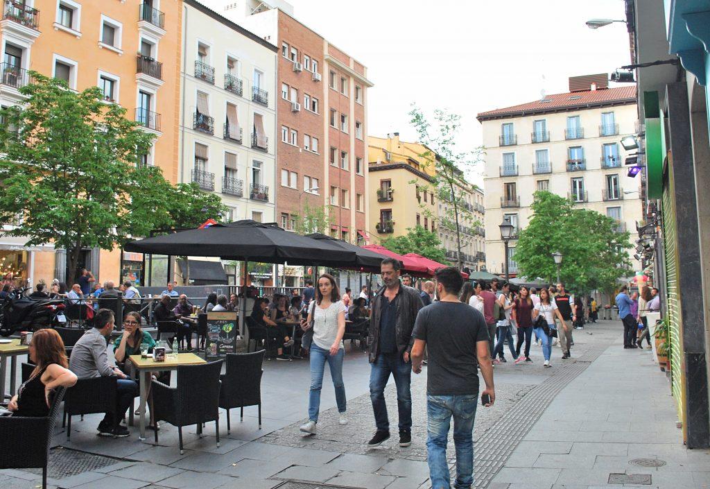 Plaza Chueca et ses terrasses