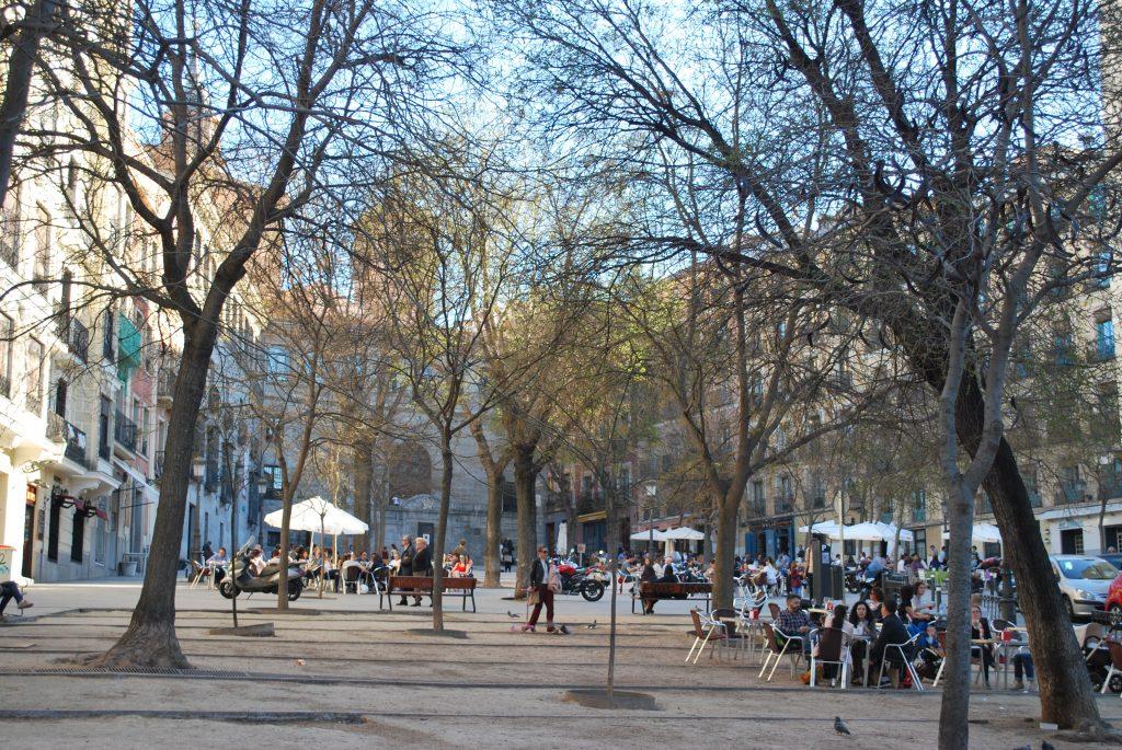 La Plaza Paja et ses terrasses