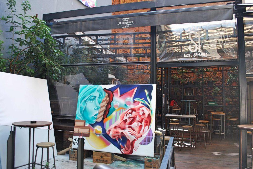 2ème patio Marché San Ildelfonso