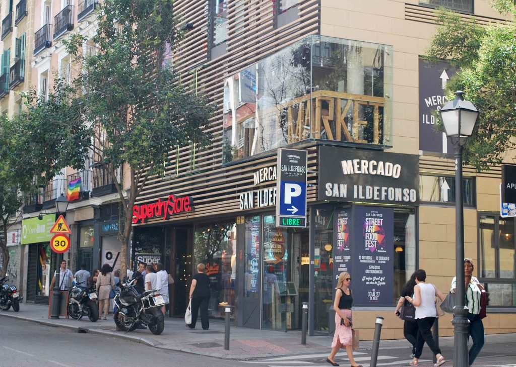 Mercado San ildelfonso