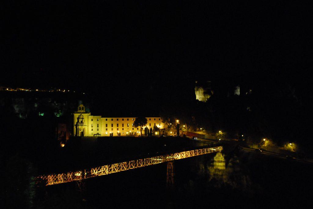Pont de San Pablo vu de nuit
