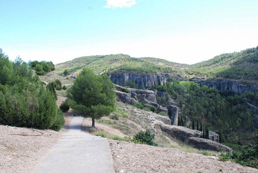 Sentier montagne cuenca