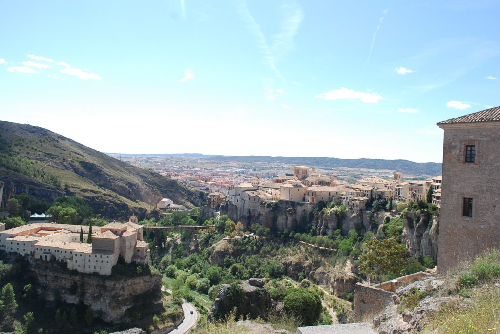 Vue de Cuenca depuis le mirador