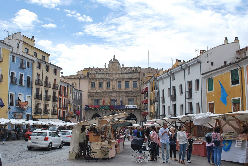 A voir à Cuenca : la Plaza Mayor