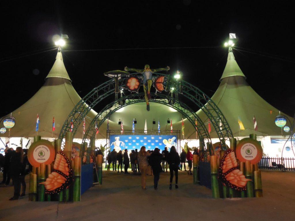 Chapiteau du Cirque du Soleil