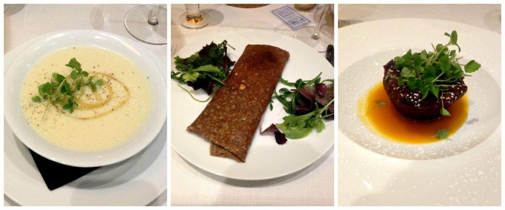 Les plats de la Brasserie Antoinette