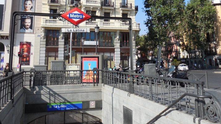 Le quartier de La Latina à Madrid