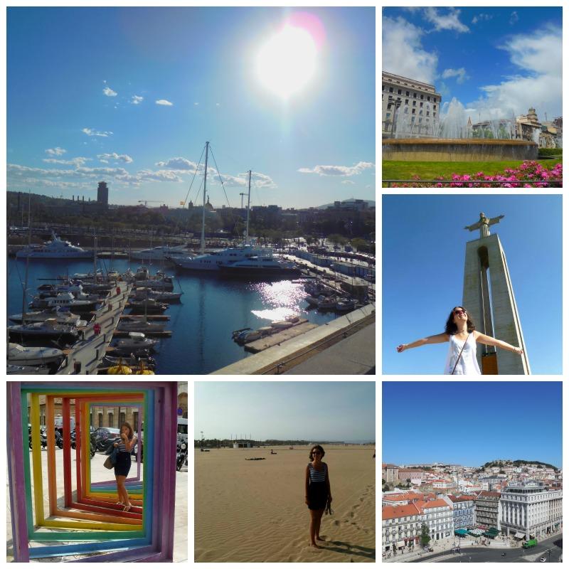 mes voyages pendant mon Erasmus à Madrid