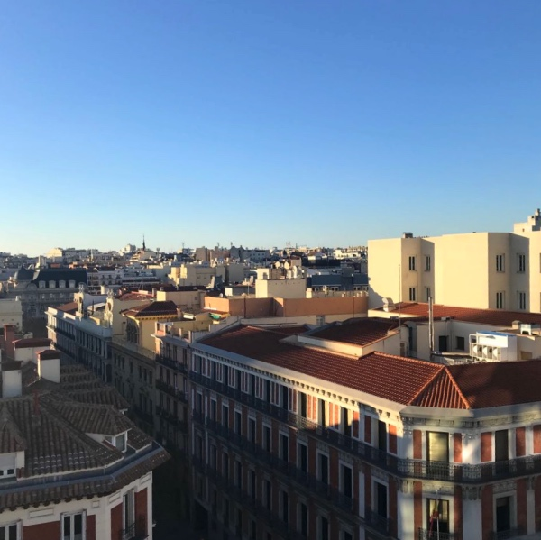 Le rooftop du Corte Inglés Serrano
