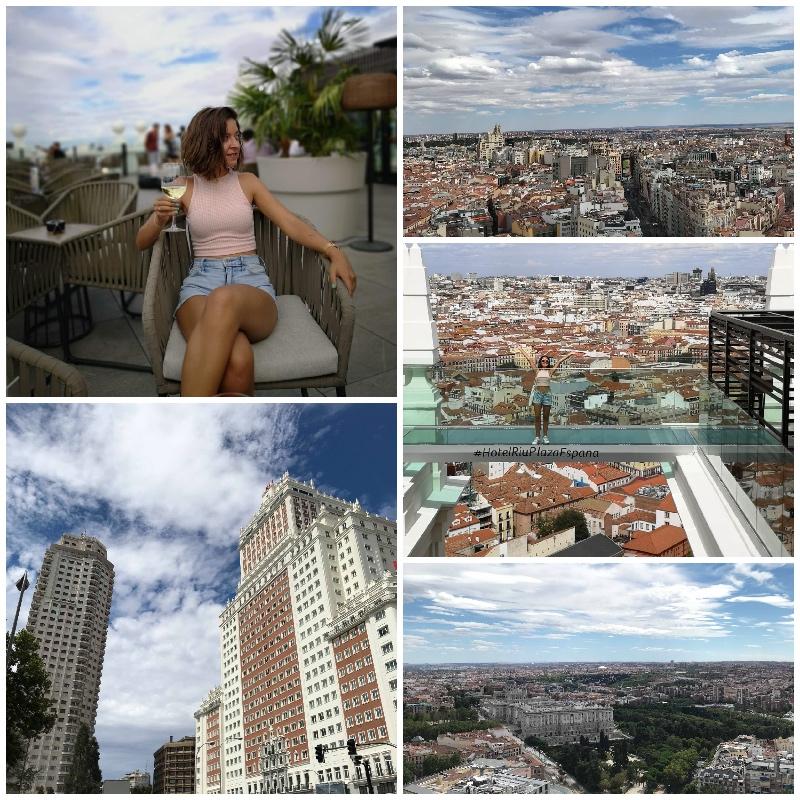 Rooftop de l'Hotel Riu