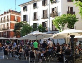Plaza San Ildefonso à Madrid