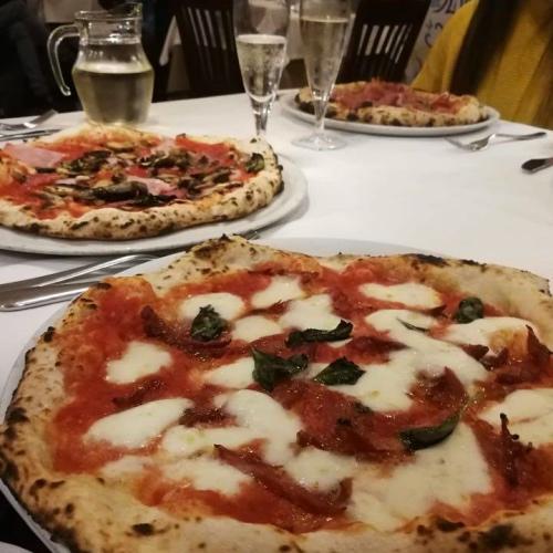 Les pizzas de Luna Rossa
