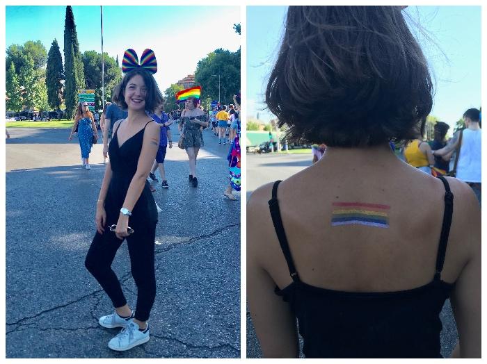 La Vida de Marine à la Pride de Madrid