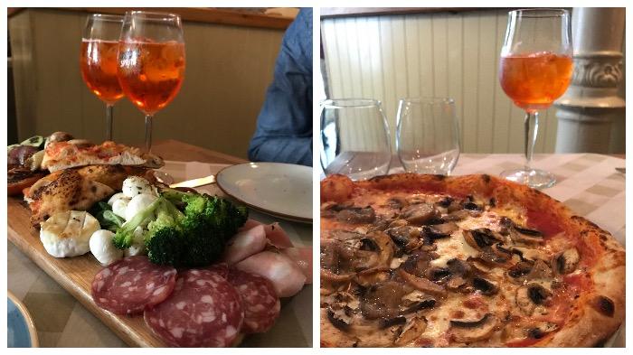 Les plats italiens de Menomale