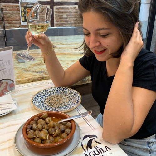 Manger des escargots à Madrid